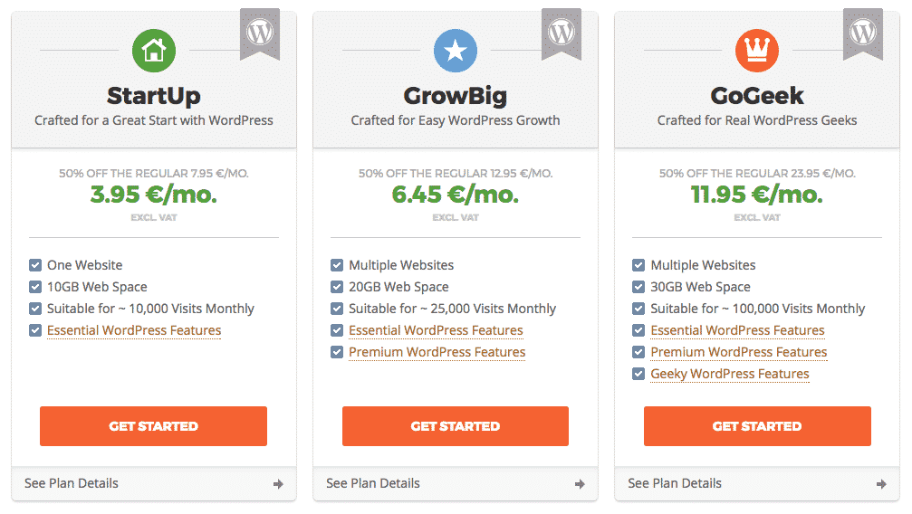 Siteground - What Web Hosting Package - What is web hosting - Prosperily